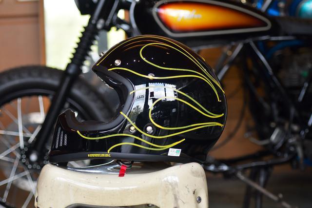 画像2: スーパーカッコ良いEX-ZEROを内職でもっとカッコ良くしたい!お手軽ヘルメットカスタムのすゝめ。〈若林浩志のスーパー・カブカブ・ダイアリーズ Vol.11〉