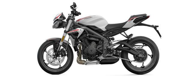 画像3: 価格は税込99万9000円!トライアンフ 2020年新型モデル「ストリートトリプルS」は5月9日発売! 660cc 3気筒スポーツの特徴・スペック・動画