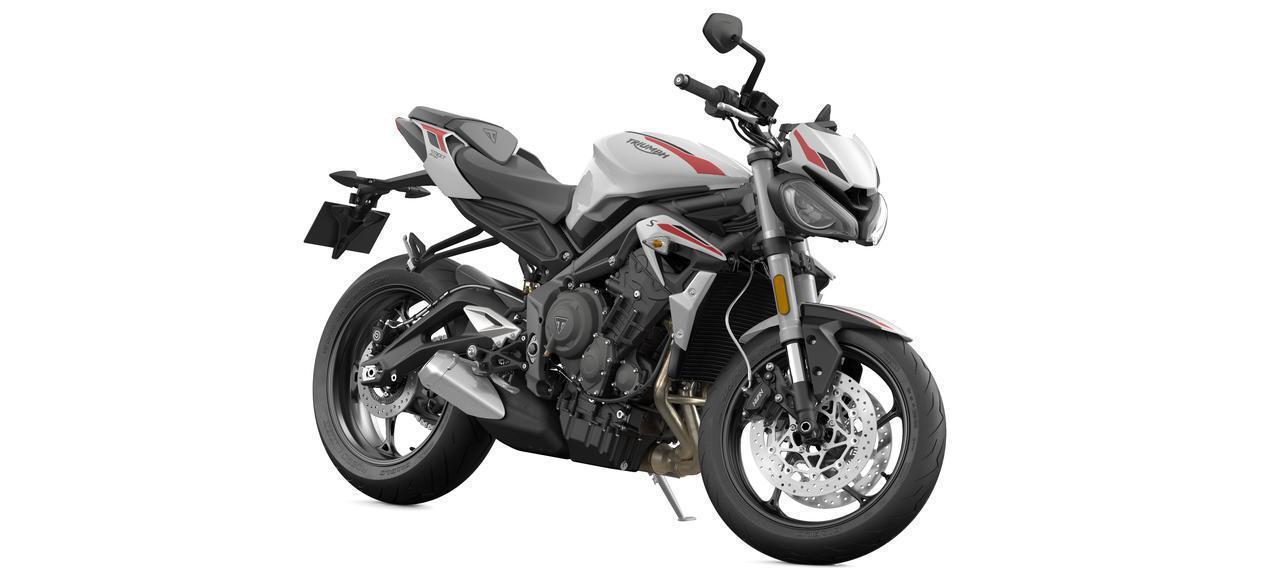 画像2: 価格は税込99万9000円!トライアンフ 2020年新型モデル「ストリートトリプルS」は5月9日発売! 660cc 3気筒スポーツの特徴・スペック・動画