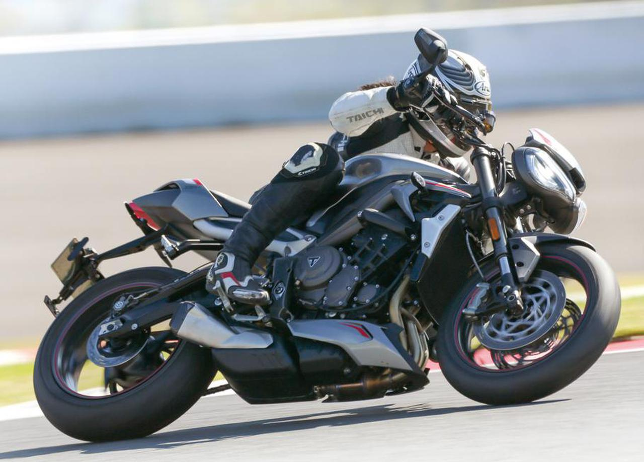 画像: トライアンフ新型車「ストリートトリプルRS」試乗インプレ - webオートバイ