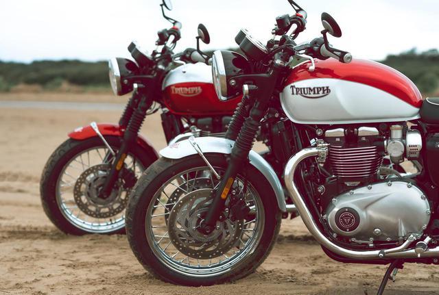 画像: トライアンフ新型車「ボンネビルT100・T120」〈バド・イーキンス スペシャルエディション〉 - webオートバイ