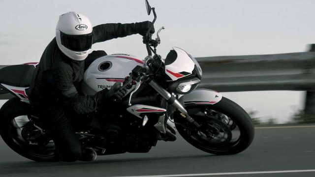 画像: The New Triumph Street Triple S www.youtube.com