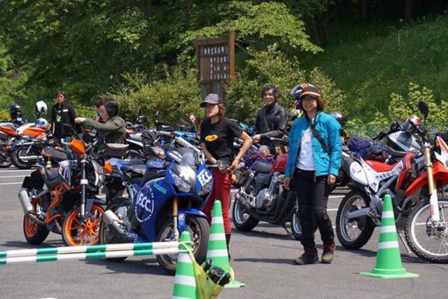 画像: 小鹿野で以前にバイク女子イベントが開催されたときのレポート(福山理子) - webオートバイ