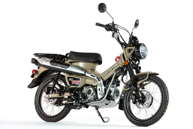画像: Honda 「CT125・ハンターカブ」 カラー:マットフレスコブラウン 総排気量:124cc 発売日:2020年6月26日(金)予定 価格:44万円(税込)