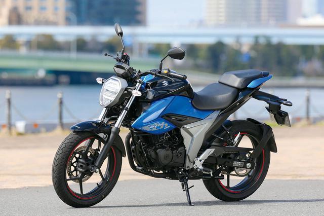 画像: SUZUKI GIXXER 150 総排気量:154cc メーカー希望小売価格:35万2000円 2020年モデルの発売日:2020年3月4日
