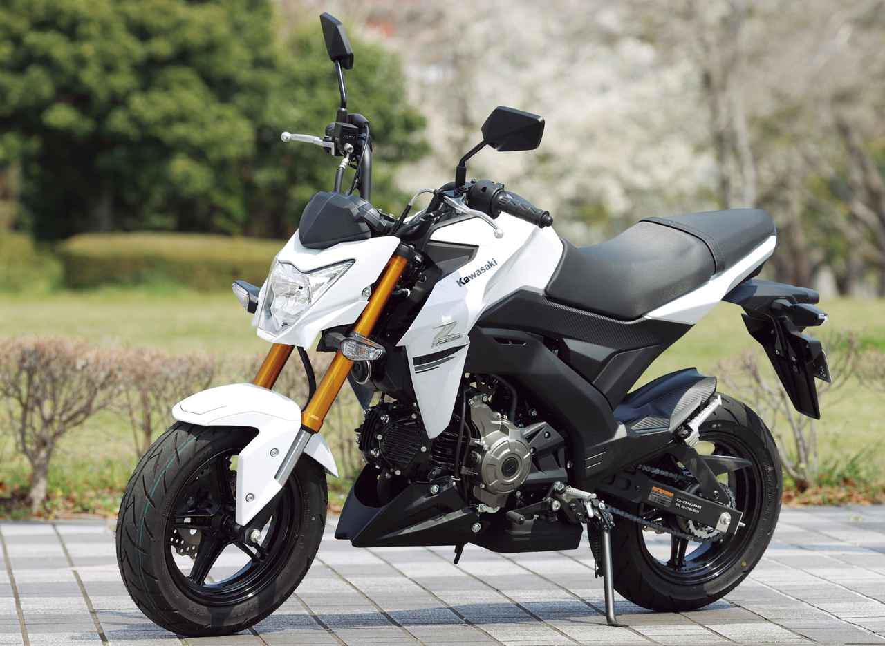 画像: KAWASAKI Z125 PRO 総排気量:124cc メーカー希望小売価格:35万2000円 2020年モデルの発売日:2020年2月1日