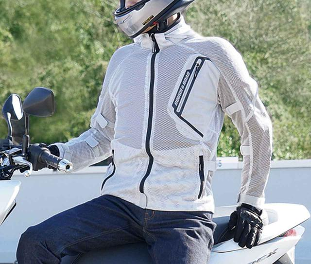 画像1: 「究極のメッシュジャケット」にパーカーVer.が追加! 真夏のバイクツーリングを快適にする、ラフ&ロードの2020年新製品