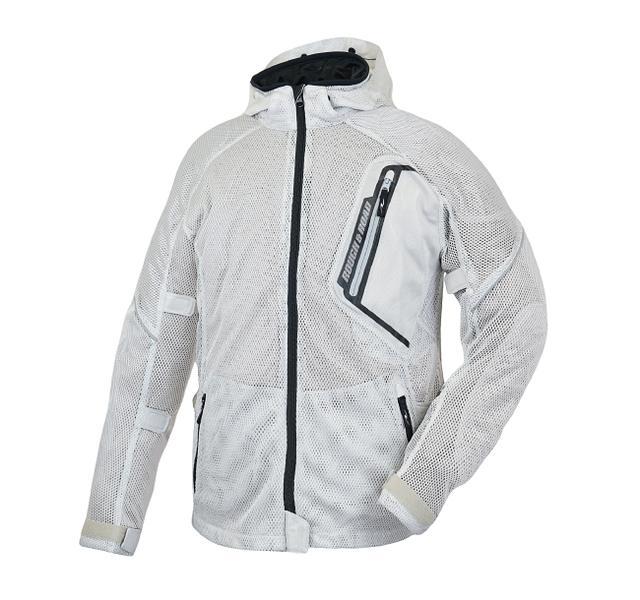 画像5: 「究極のメッシュジャケット」にパーカーVer.が追加! 真夏のバイクツーリングを快適にする、ラフ&ロードの2020年新製品
