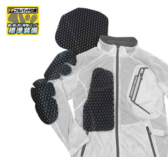 画像2: 「究極のメッシュジャケット」にパーカーVer.が追加! 真夏のバイクツーリングを快適にする、ラフ&ロードの2020年新製品