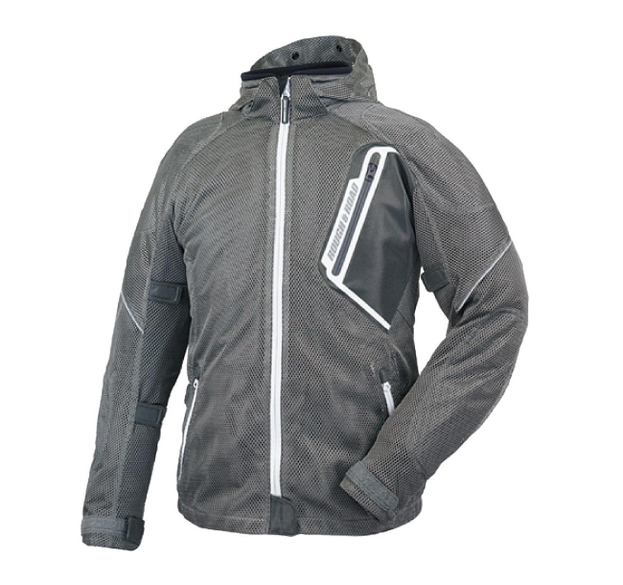 画像4: 「究極のメッシュジャケット」にパーカーVer.が追加! 真夏のバイクツーリングを快適にする、ラフ&ロードの2020年新製品