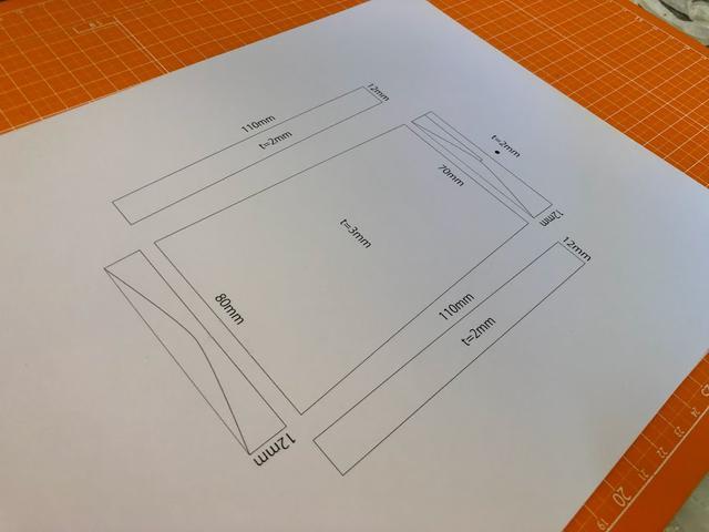 画像: 適当に絵を描いてみる。トップカバーのR部分が正直よくわからぬ。