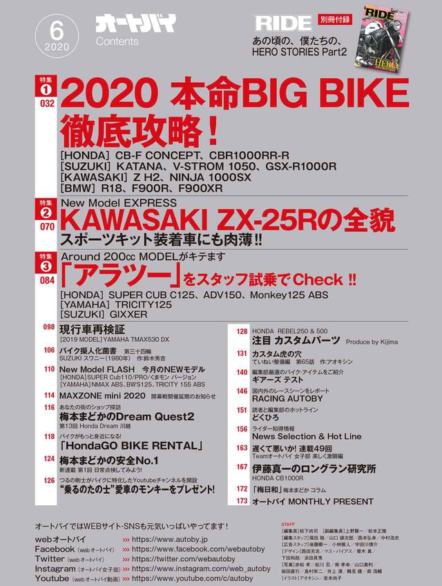画像3: 月刊『オートバイ』6月号は4月30日(木)発売! 原付二種からビッグバイクまで、いま話題の新型車を徹底解説!