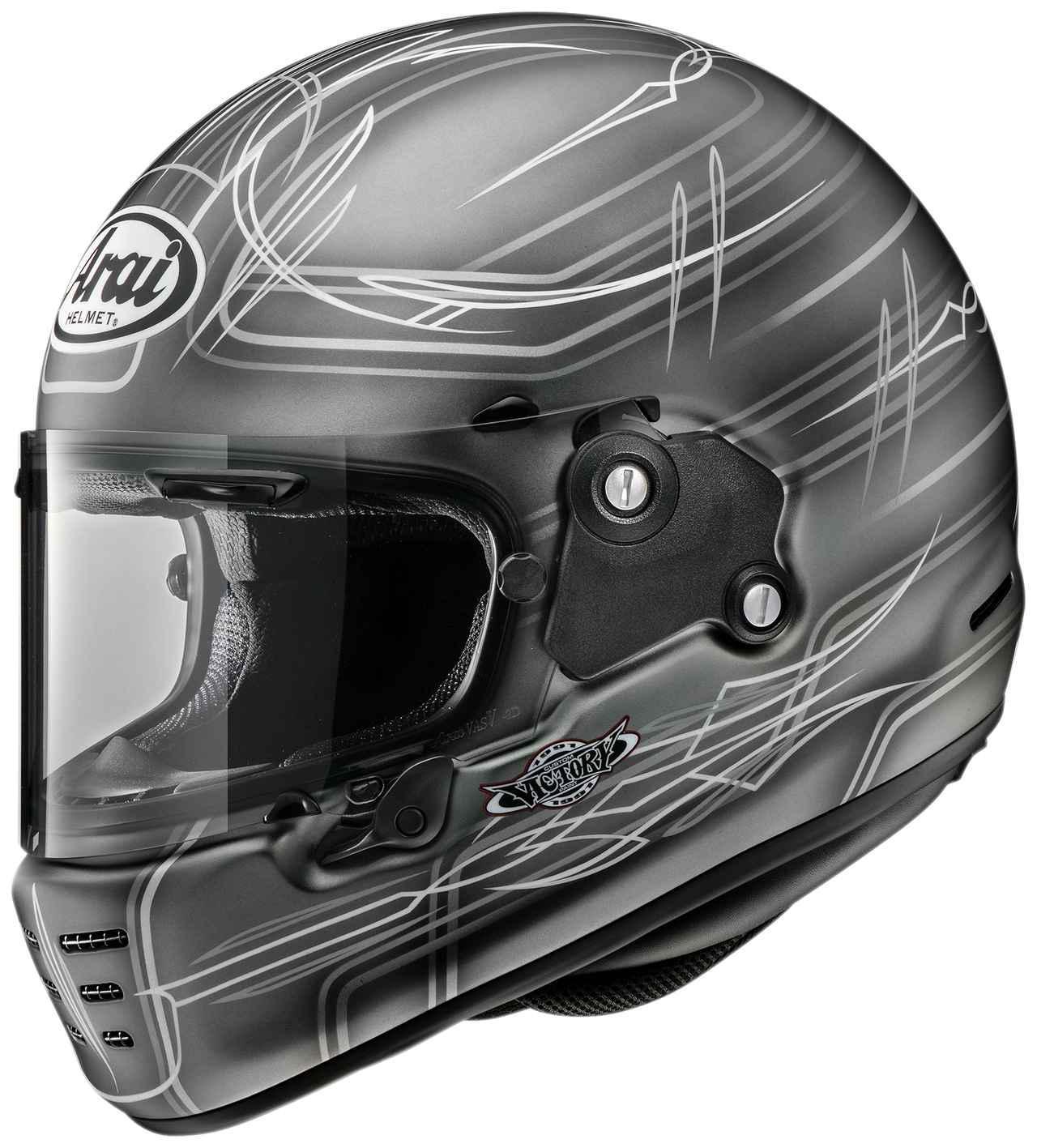 画像: 硬派なグラフィック!「ビクトリーカスタムペイント」が手掛けたアライヘルメット〈ラパイド・ネオ〉が渋い! - webオートバイ