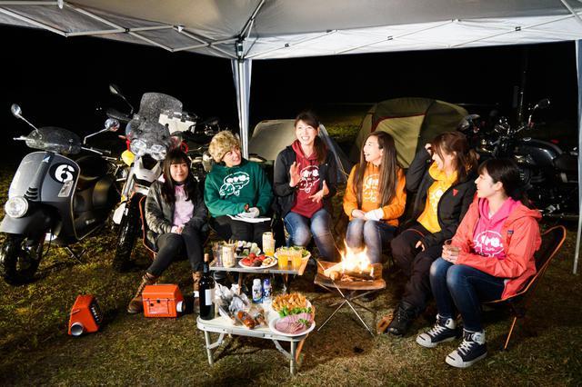 画像13: オートバイ女子部でキャンプツーリングに行ってきました!