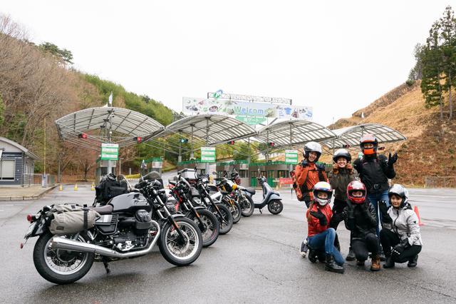 画像11: オートバイ女子部でキャンプツーリングに行ってきました!