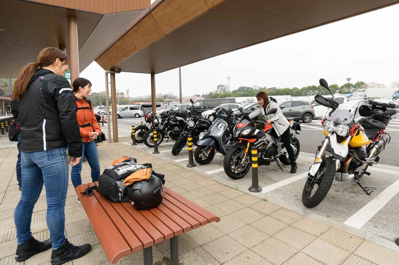画像7: オートバイ女子部でキャンプツーリングに行ってきました!