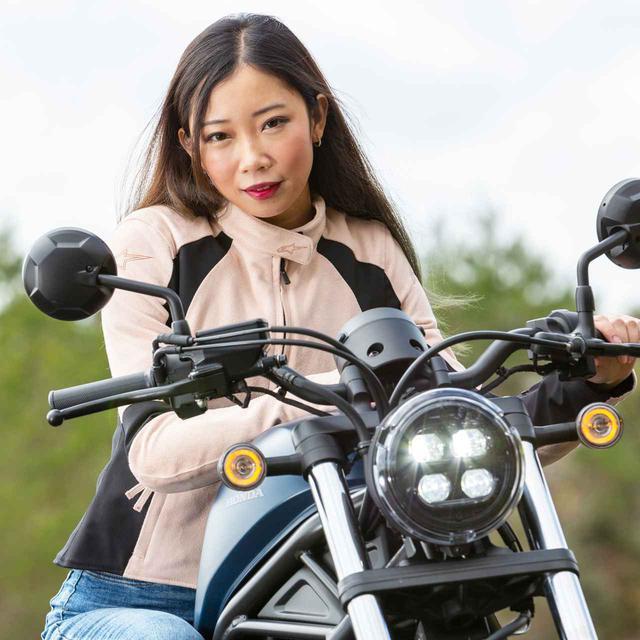 画像: 木川田ステラ × ホンダ レブル250【オートバイ女子部のフォトアルバム】 - webオートバイ