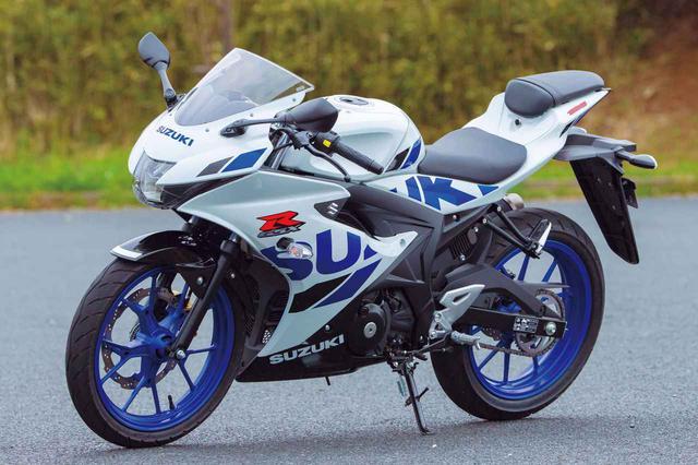 画像: SUZUKI GSX-R125 ABS 総排気量:124cc メーカー希望小売価格:39万3800円(税込) 2020年モデルの発売日:2020年2月27日