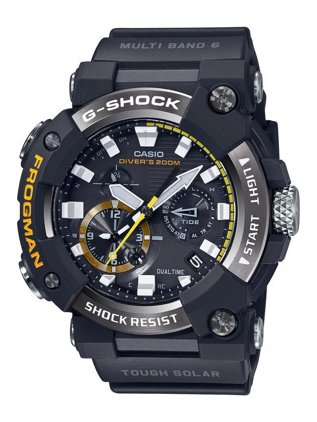 画像8: G-SHOCKのダイバーズウオッチ「フロッグマン」からバイク乗りにも人気の〈アナログ〉モデルが初めて登場! メンテ不要のタフネス電波ソーラー腕時計
