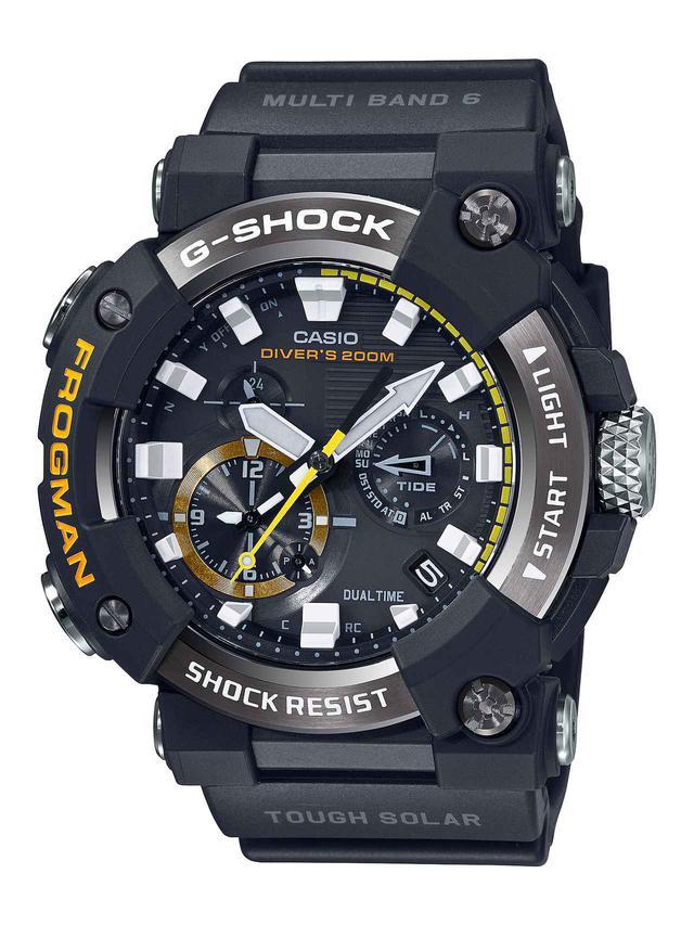 画像1: G-SHOCKのダイバーズウオッチ「フロッグマン」からバイク乗りにも人気の〈アナログ〉モデルが初めて登場! メンテ不要のタフネス電波ソーラー腕時計