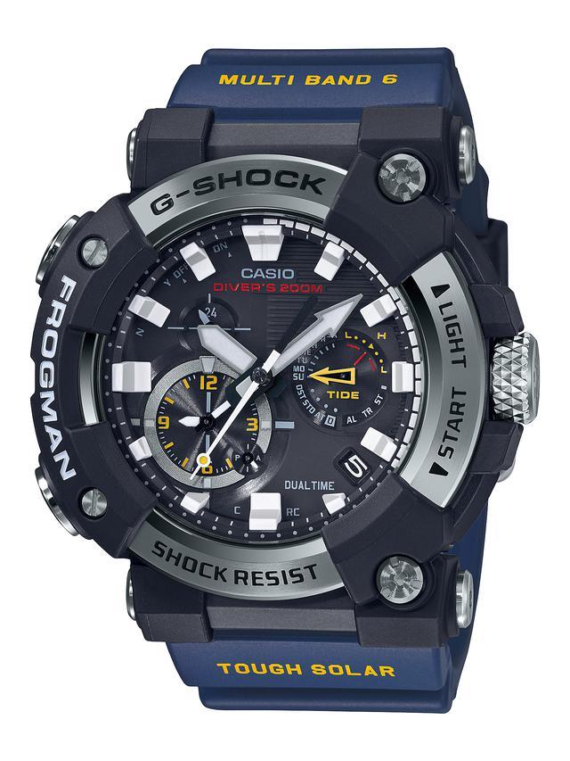 画像9: G-SHOCKのダイバーズウオッチ「フロッグマン」からバイク乗りにも人気の〈アナログ〉モデルが初めて登場! メンテ不要のタフネス電波ソーラー腕時計