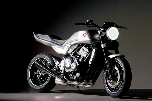 画像: ホンダ「CB-F コンセプト」ディテール解説- webオートバイ