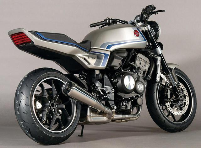 画像: ホンダ「CB-F コンセプト」スタイリング解説 - webオートバイ