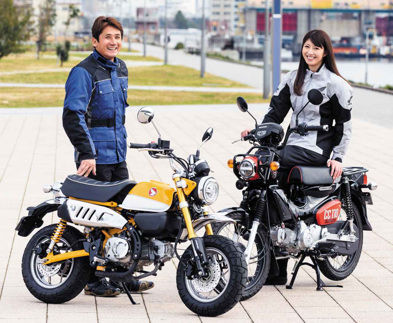 画像: ホンダ「クロスカブ110」「モンキー125」を乗り比べ!【伊藤真一のロングラン研究所】 - webオートバイ