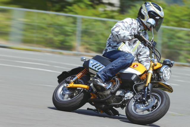 画像: 〈試乗インプレ〉ホンダ「モンキー125」 - webオートバイ