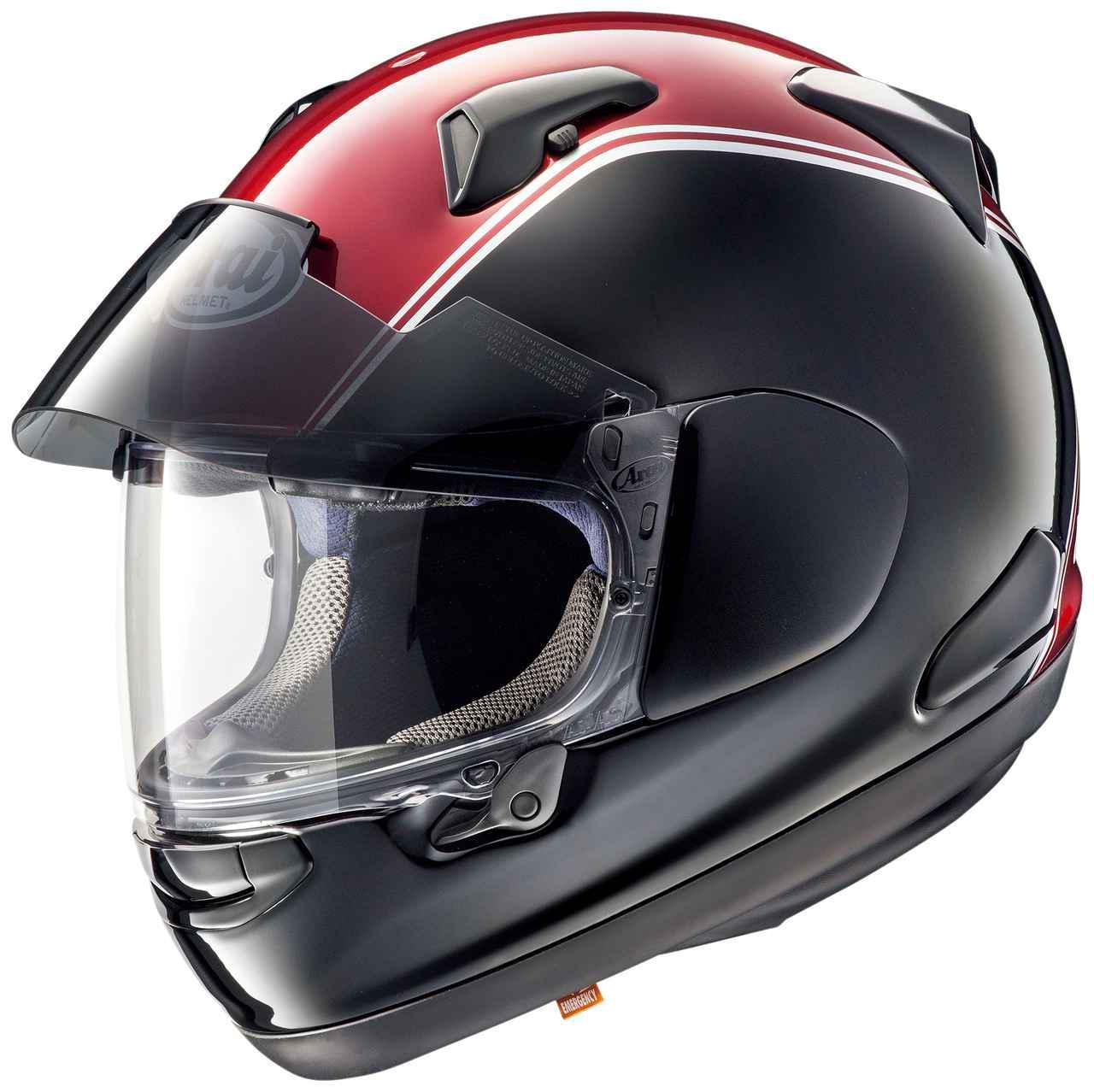 画像: 【Arai × Honda】ゴールドウイングのカラーにマッチしたヘルメット - webオートバイ