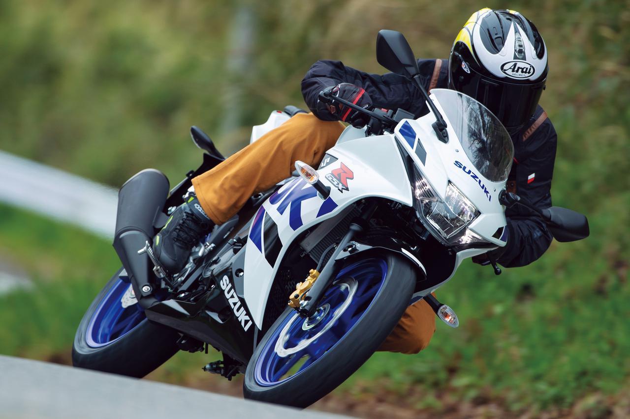 画像1: スズキ「GSX-R125 ABS」(2020年)解説&インプレッション|ツーリングもサーキット走行も楽しめる原付二種の本格スーパースポーツ - webオートバイ