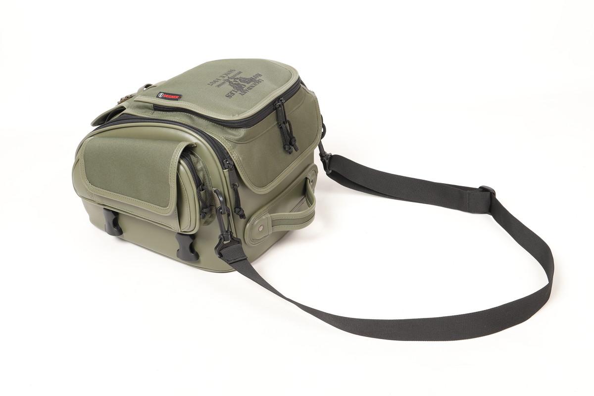 画像8: ミリタリーテイストのツーリングバイクを簡単に作れる! デグナーから3種類の新作バッグが発表された!