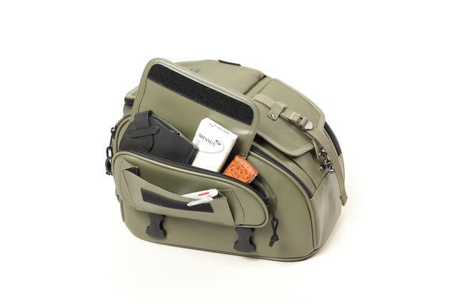 画像7: ミリタリーテイストのツーリングバイクを簡単に作れる! デグナーから3種類の新作バッグが発表された!