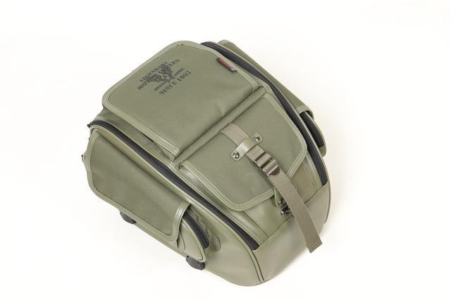 画像3: ミリタリーテイストのツーリングバイクを簡単に作れる! デグナーから3種類の新作バッグが発表された!