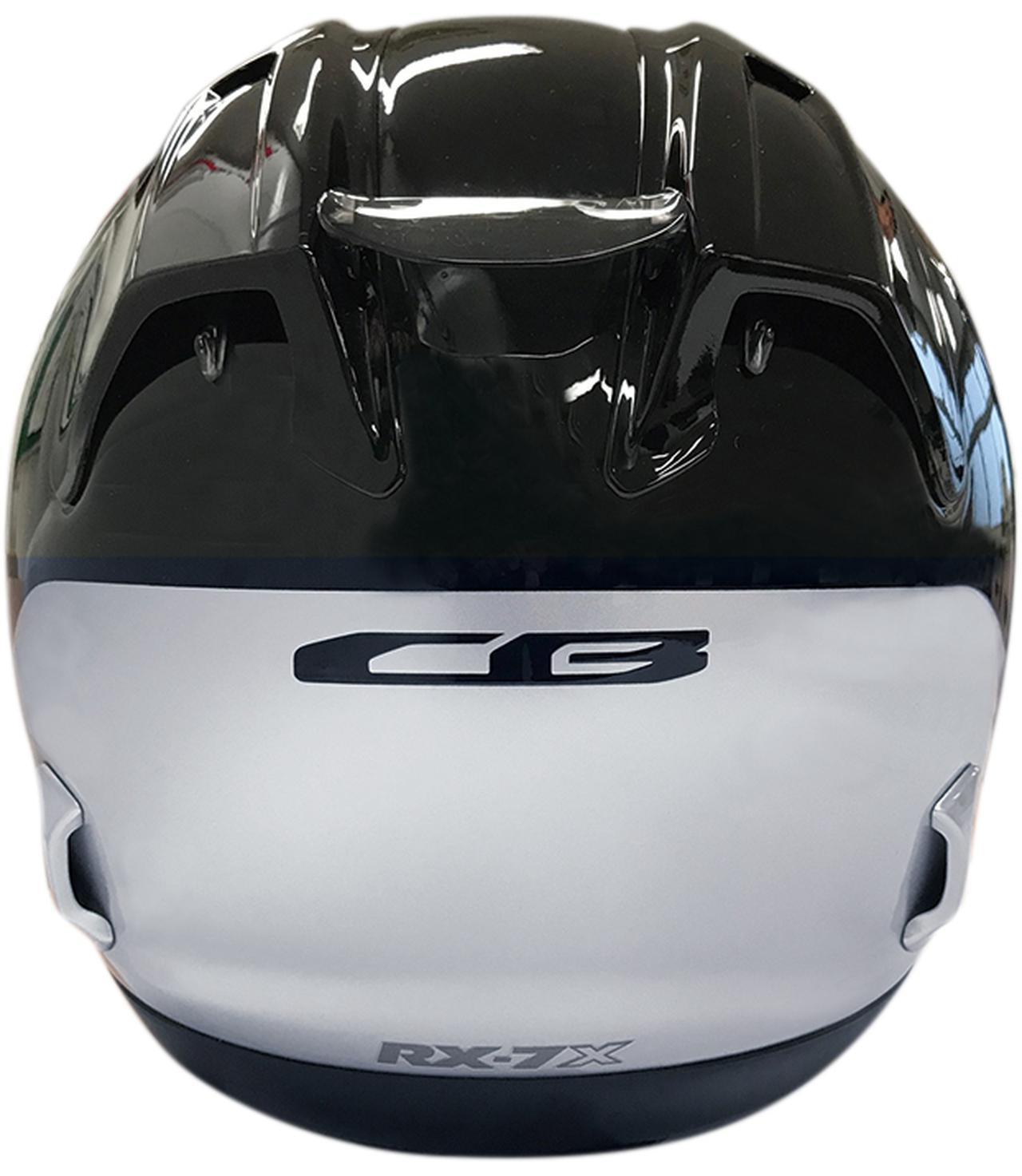 画像: CBファンを狙いうち!〈Arai×Honda〉のフルフェイス・ヘルメット「RX-7X CB」 - webオートバイ