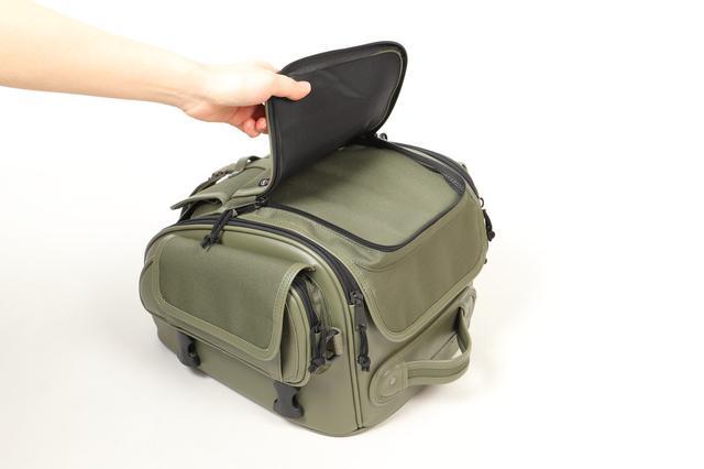 画像6: ミリタリーテイストのツーリングバイクを簡単に作れる! デグナーから3種類の新作バッグが発表された!