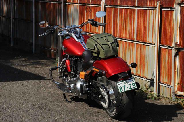 画像2: ミリタリーテイストのツーリングバイクを簡単に作れる! デグナーから3種類の新作バッグが発表された!