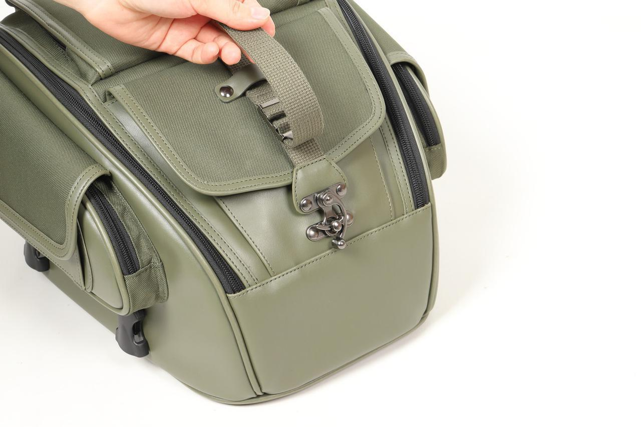 画像5: ミリタリーテイストのツーリングバイクを簡単に作れる! デグナーから3種類の新作バッグが発表された!