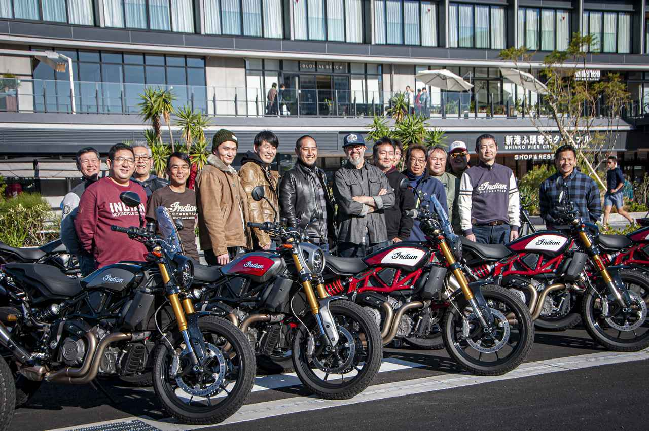 画像: 【インディアン】FTR1200オーナーのためのランチミーティングが開催!「横浜みなとみらい」に全国からFTRが集いました! - webオートバイ