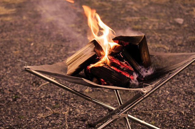 画像: キャンプツーリングにおすすめの軽量「焚き火台」を考察! - webオートバイ