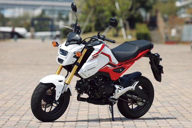 画像: Honda GROM 排気量:124cc メーカー希望小売価格:36万3000円(税込) 2020年モデルの発売日:2020年3月13日