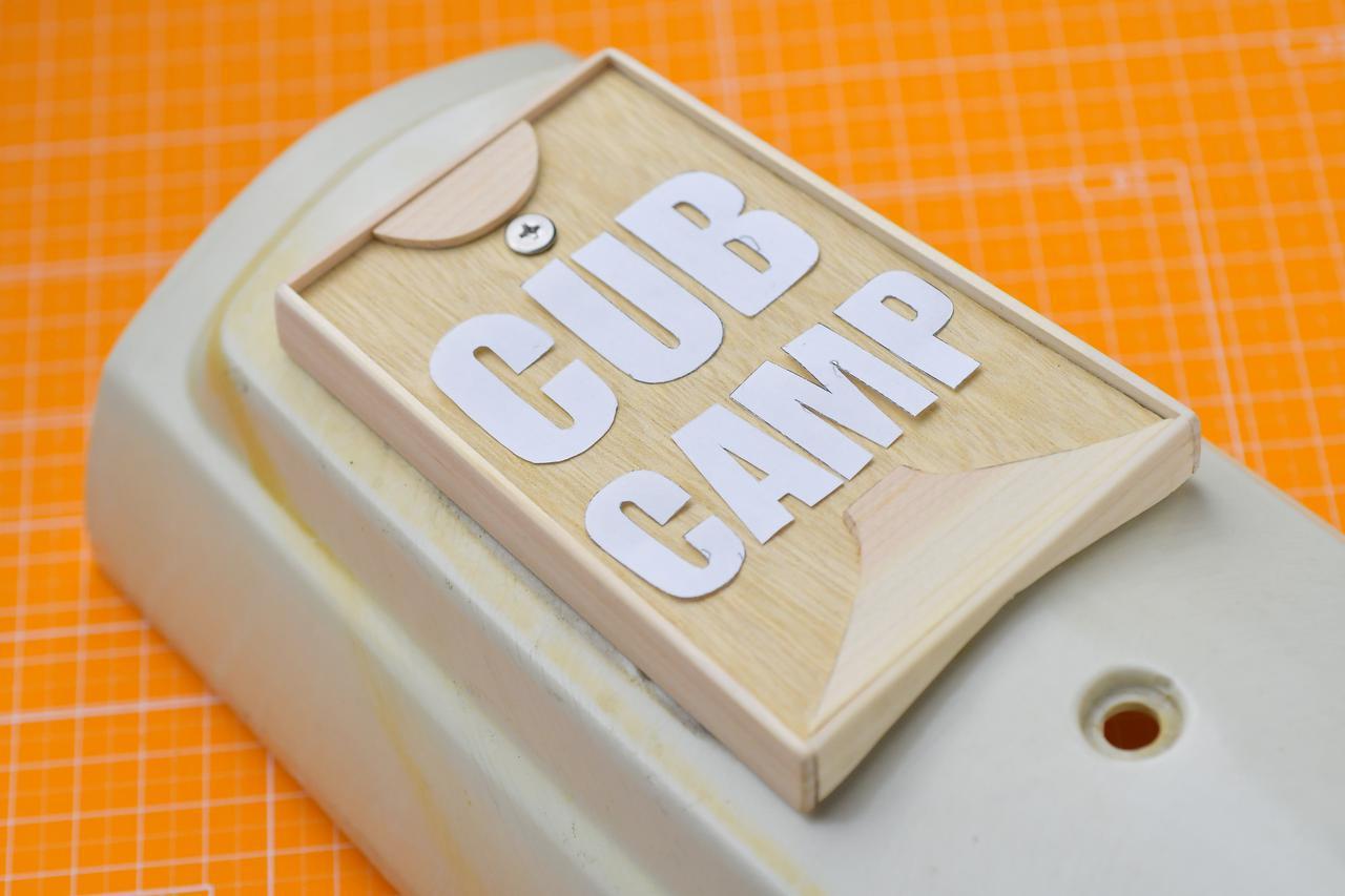 画像: スーパーカブのフロントエンブレムを自作するのだ。前編 - webオートバイ