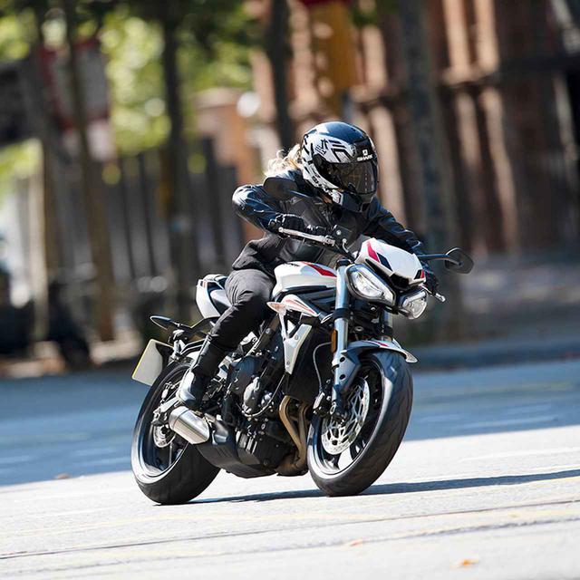 画像5: 価格は税込99万9000円!トライアンフ 2020年新型モデル「ストリートトリプルS」は5月9日発売! 660cc 3気筒スポーツの特徴・スペック・動画
