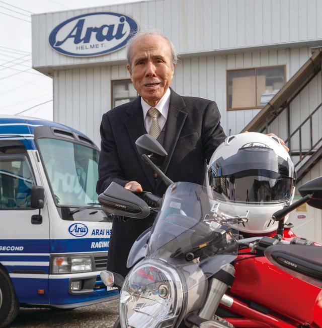 画像: 【インタビュー記事】アライヘルメット代表・新井理夫氏 - webオートバイ