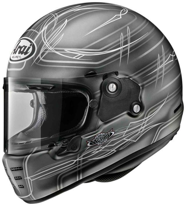 画像: 硬派なグラフィック!「ビクトリーカスタムペイント」が手掛けたアライヘルメット〈ラパイドNEO〉が渋い! - webオートバイ