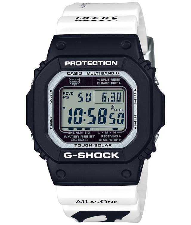 画像2: G-SHOCKとBABY-Gから人気の「イルクジ」最新モデルが登場! オルカをモチーフとした白×黒デザインがおしゃれなソーラー電波腕時計