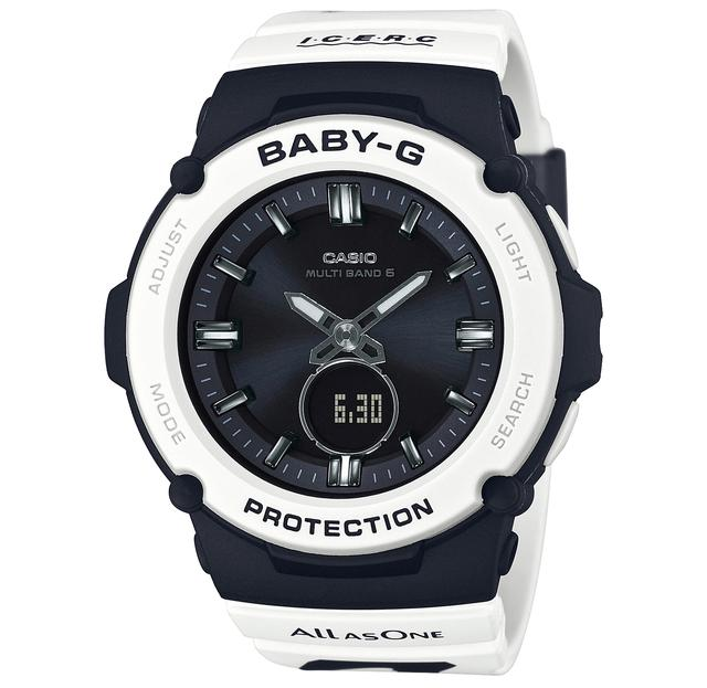 画像3: G-SHOCKとBABY-Gから人気の「イルクジ」最新モデルが登場! オルカをモチーフとした白×黒デザインがおしゃれなソーラー電波腕時計