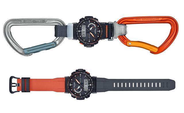 画像: アウトドア好きの物欲をくすぐるプロトレック! 限定1000本、日本フリークライミング協会公認の腕時計 - webオートバイ