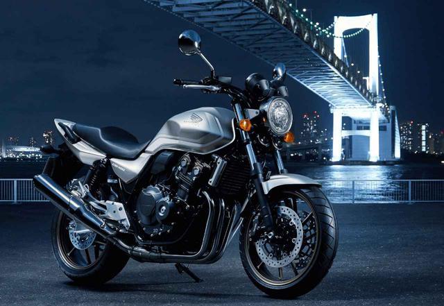画像: ホンダ「CB400 SUPER FOUR」現行モデル情報 - webオートバイ