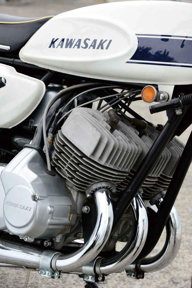 画像: <バイク界の逸話>思い出のクラシック・モンスター|カワサキ 500SSマッハⅢ - webオートバイ